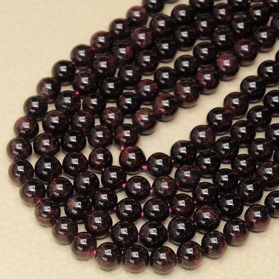 Gr 0181a perles grenat 8mm achat vente loisirs creatifs accessoires pierre naturelle