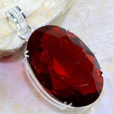 Gr 0198a pendant pendentif grenat mozambique bijoux argent 925 achat vente bijou