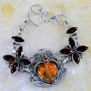 Gr 0303d bracelet grenat garnet bouddha jaspe lithotherapie gemme argent 925 achat vente bijou