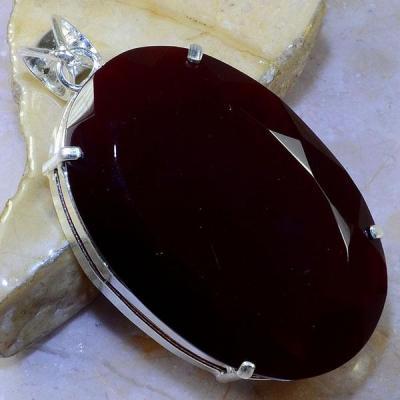 Gr 0460a pendentif pendant grenat garnet pierre lithotherapie argent 925 achat vente bijou