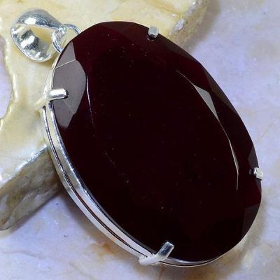 Gr 0461a pendentif pendant grenat garnet pierre lithotherapie argent 925 achat vente bijou
