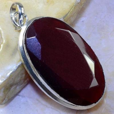 Gr 0463a pendentif pendant grenat garnet pierre lithotherapie argent 925 achat vente bijou
