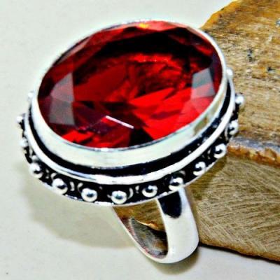 Gr 0583a bague chevaliere t56 medievale grenat mozambique achat vente bijou argent 925 2