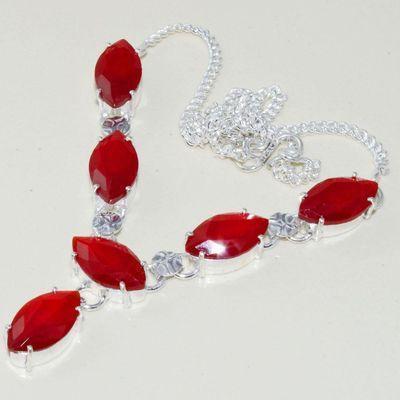 Gr 0593d collier parure medievale grenat agate mozambique achat vente bijou argent 925 1