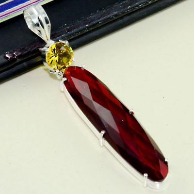 Gr 0604d pendentif pendant medievale grenat mozambique achat vente bijou argent 925 1