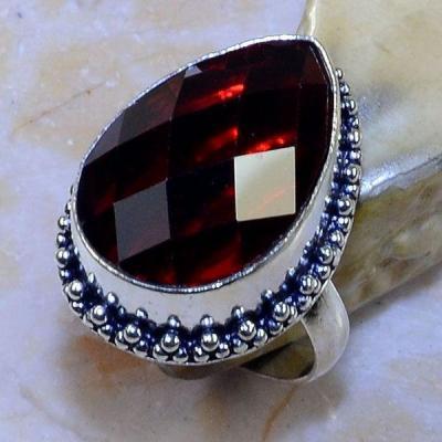 Gr 0610a bague t60 chevaliere grenat mozambique achat vente bijou argent 925