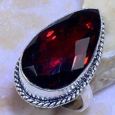 Gr 0616a bague t59 chevaliere grenat mozambique achat vente bijou argent 925