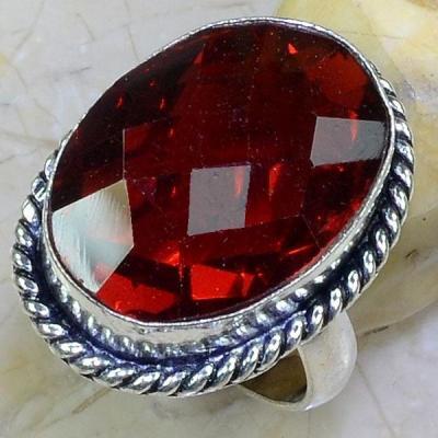 Gr 0617a bague t62 chevaliere grenat mozambique achat vente bijou argent 925