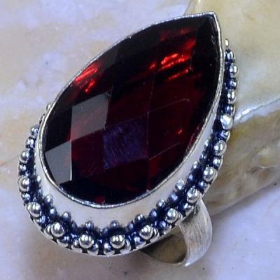 Gr 0619a bague t60 chevaliere grenat mozambique achat vente bijou argent 925