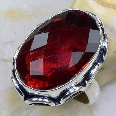 Gr 0624a bague t64 chevaliere grenat mozambique achat vente bijou argent 925
