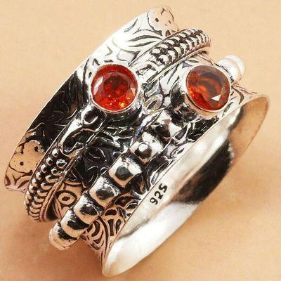 Gr 0856a bague anneau t54 7gr achat vente bijou ethnique gothique argent 925