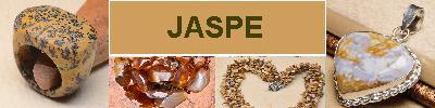 Bijoux en argent 925 avec pierre JASPE - achat et  vente - bagues, colliers, bracelets, parures, boucles oreilles, pendentif