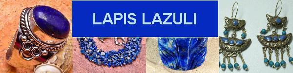 Bijoux en argent 925 avec pierre LAPIS LAZULI - achat et  vente - bagues, colliers, bracelets, parures, boucles oreilles, penden