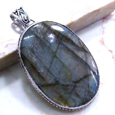 Lb 0001a pendentif pendant labradorite35x55mm 26gr achat vente bijou argent 925