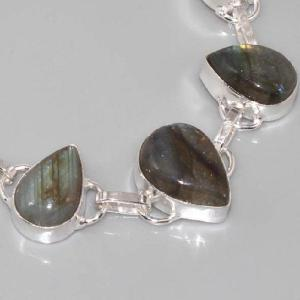 Lb 0534b bracelet labradorite achat vente argent 925