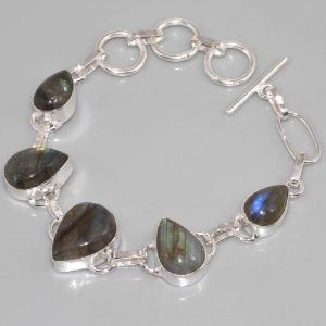 Lb 0534c bracelet labradorite achat vente argent 925