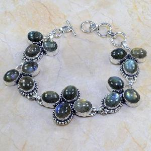 Lb 0537c bracelet labradorite achat vente argent 925