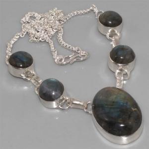 Lb 0541a collier labradorite achat vente argent 925