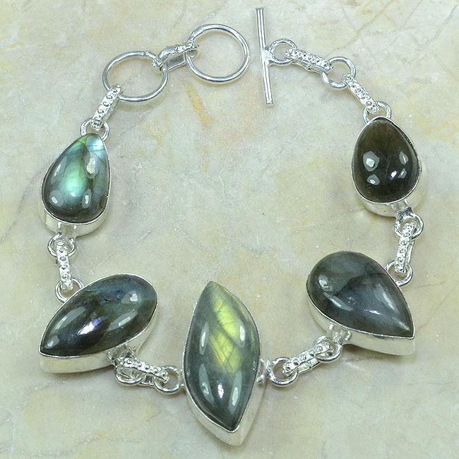 Lb 0542a bracelet labradorite achat vente argent 925