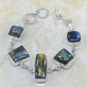 Lb 0543a bracelet labradorite achat vente argent 925