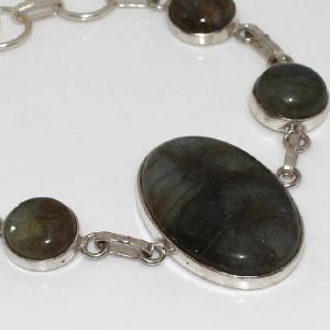 Lb 0571b bracelet labradorite achat vente plq argent 925