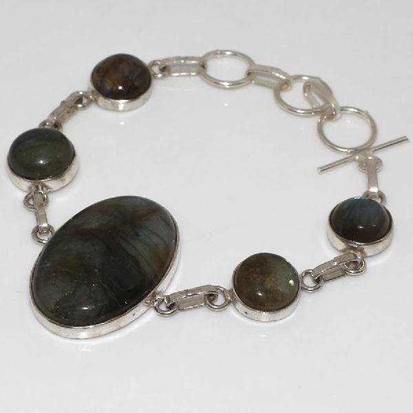 Lb 0571c bracelet labradorite achat vente plq argent 925