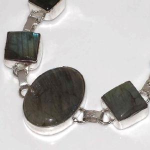 Lb 0573b bracelet labradorite achat vente plq argent 925