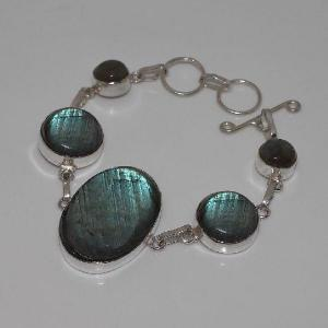 Lb 0575c bracelet labradorite achat vente plq argent 925