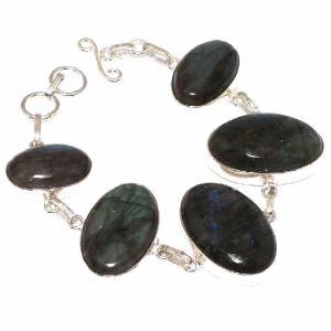 Lb 0576a bracelet labradorite achat vente plq argent 925