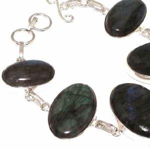 Lb 0576b bracelet labradorite achat vente plq argent 925