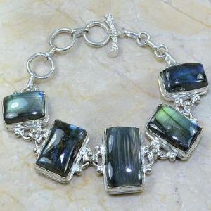Lb 0583a bracelet labradorite achat vente bijou argent 925