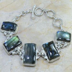 Lb 0583c bracelet labradorite achat vente bijou argent 925