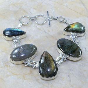 Lb 0584a bracelet labradorite achat vente bijou argent 925
