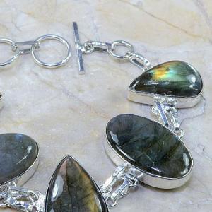 Lb 0584b bracelet labradorite achat vente bijou argent 925