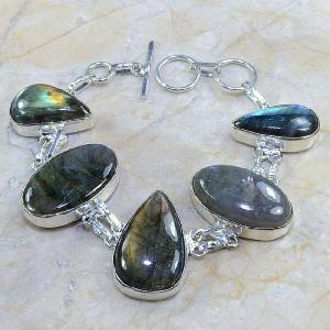 Lb 0584c bracelet labradorite achat vente bijou argent 925