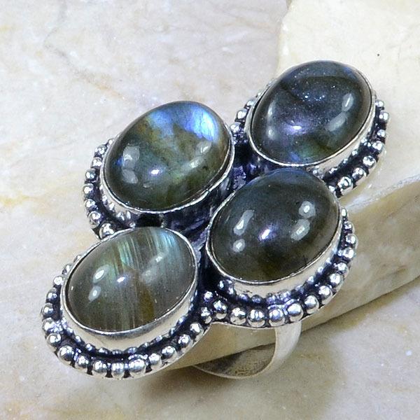 Lb 0587a bague labradorite t59 achat vente bijoux argent 925