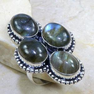 Lb 0587b bague labradorite t59 achat vente bijoux argent 925