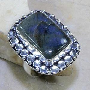 Lb 0590b bague labradorite t57 achat vente bijoux argent 925