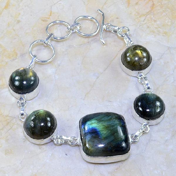 Lb 0594a bracelet labradorite achat vente bijou argent 925
