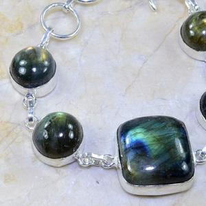 Lb 0594b bracelet labradorite achat vente bijou argent 925
