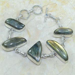 Lb 0595a bracelet labradorite achat vente bijou argent 925