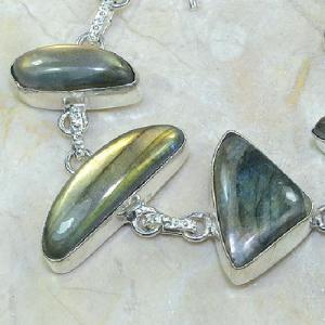 Lb 0595b bracelet labradorite achat vente bijou argent 925