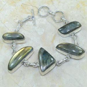 Lb 0595c bracelet labradorite achat vente bijou argent 925