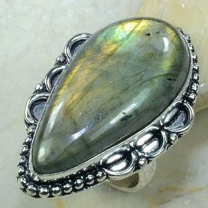 Lb 0596a bague labradorite t56 achat vente bijoux argent 925