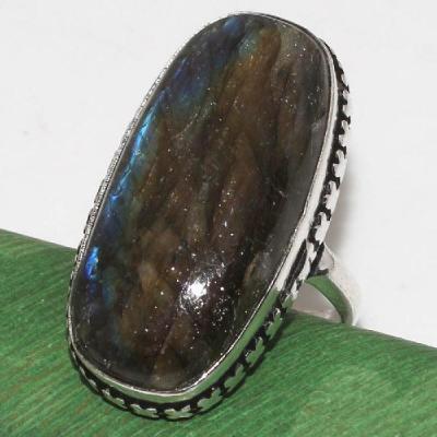 Lb 0601b bague t55 labradorite achat vente bijoux argent 925