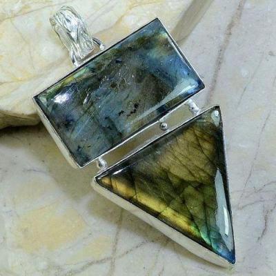 Lb 0613a pendant pendentif labradorite achat vente bijou argent 925