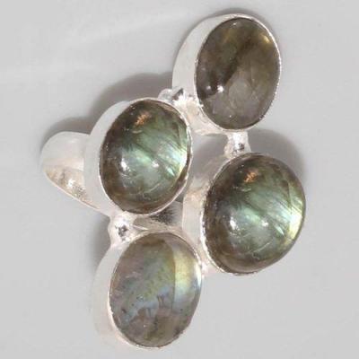 Lb 0621c bague t55 labradorite achat vente bijoux argent 925