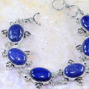 Lpc 141b bracelet lapis lazuli bijou argent 925 achat vente