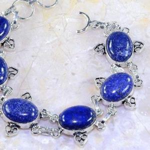 Lpc 141c bracelet lapis lazuli bijou argent 925 achat vente