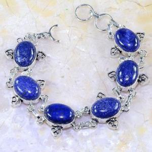 Lpc 141d bracelet lapis lazuli bijou argent 925 achat vente